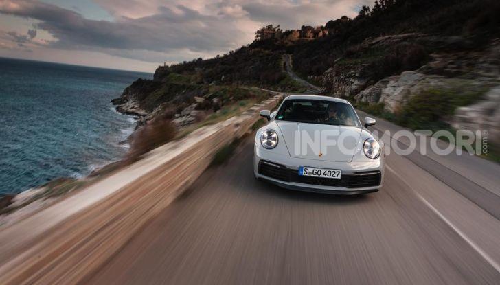 Nuova Porsche 911 (992): Prova su strada in Corsica della nuova Carrera S - Foto 59 di 69