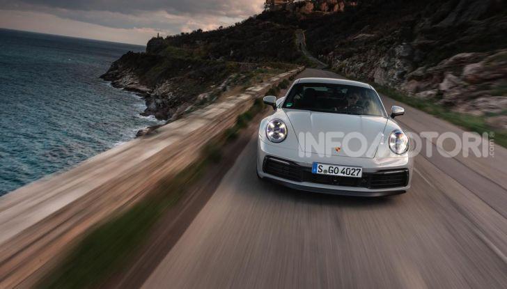 Nuova Porsche 911 (992): Prova su strada in Corsica della nuova Carrera S - Foto 60 di 69