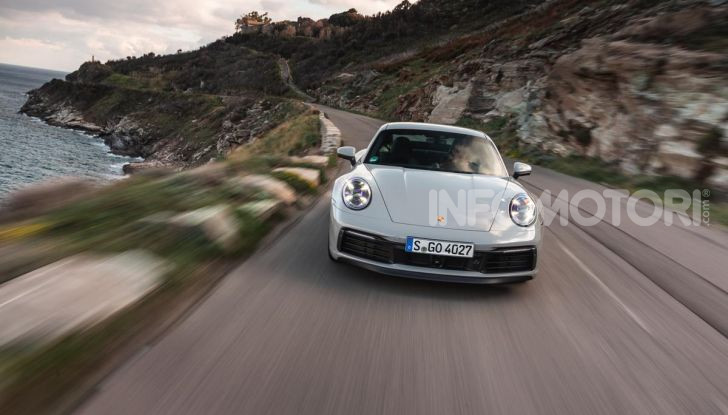 Nuova Porsche 911 (992): Prova su strada in Corsica della nuova Carrera S - Foto 61 di 69