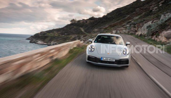 Nuova Porsche 911 (992): Prova su strada in Corsica della nuova Carrera S - Foto 62 di 69