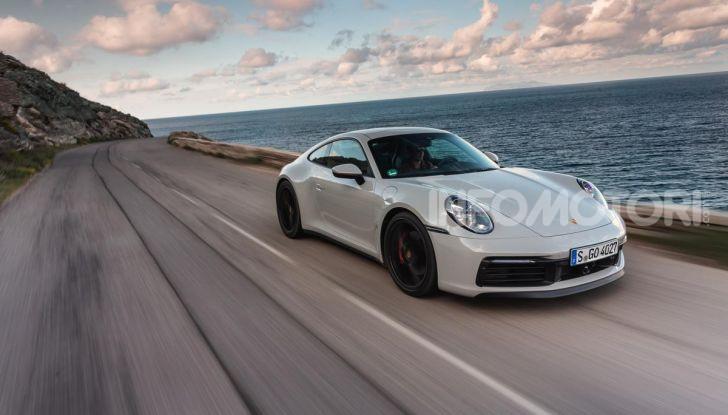 Nuova Porsche 911 (992): Prova su strada in Corsica della nuova Carrera S - Foto 63 di 69