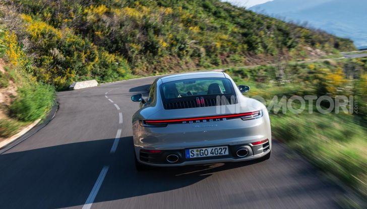 Nuova Porsche 911 (992): Prova su strada in Corsica della nuova Carrera S - Foto 23 di 69