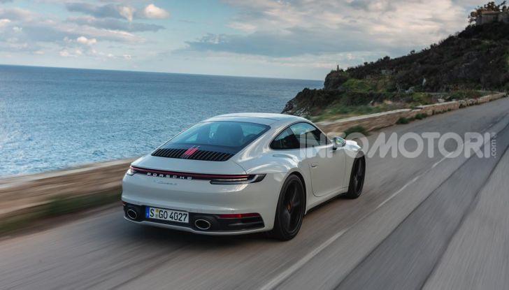 Nuova Porsche 911 (992): Prova su strada in Corsica della nuova Carrera S - Foto 43 di 69