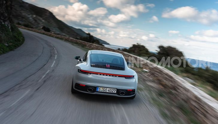 Nuova Porsche 911 (992): Prova su strada in Corsica della nuova Carrera S - Foto 65 di 69