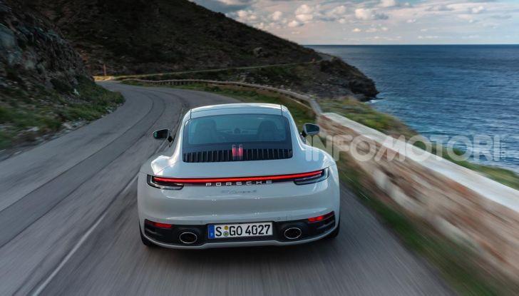 Nuova Porsche 911 (992): Prova su strada in Corsica della nuova Carrera S - Foto 44 di 69