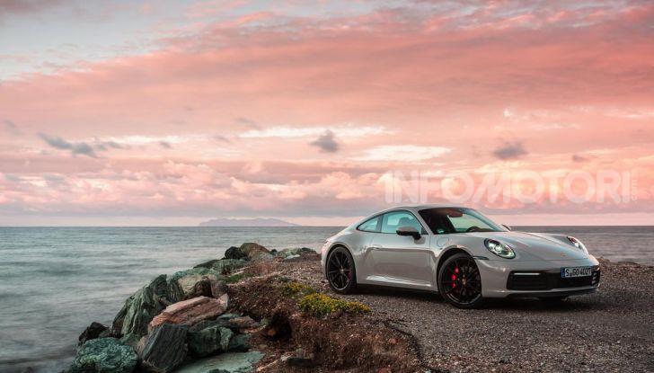 Nuova Porsche 911 (992): Prova su strada in Corsica della nuova Carrera S - Foto 67 di 69