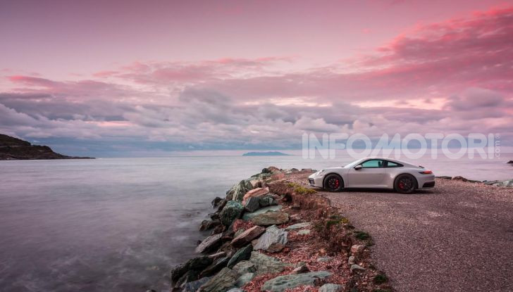 Nuova Porsche 911 (992): Prova su strada in Corsica della nuova Carrera S - Foto 69 di 69