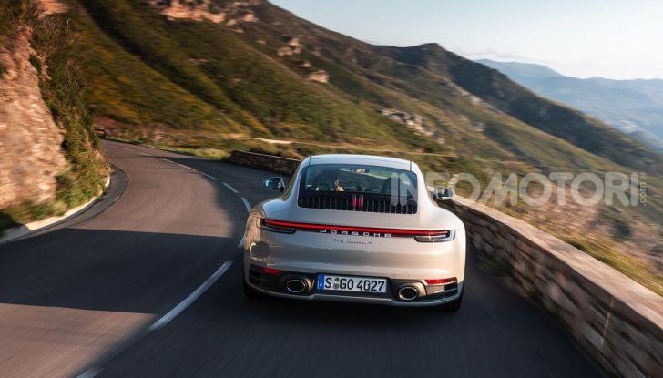 Nuova Porsche 911 (992): Prova su strada in Corsica della nuova Carrera S - Foto 24 di 69