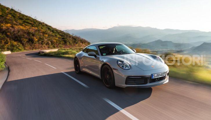 Nuova Porsche 911 (992): Prova su strada in Corsica della nuova Carrera S - Foto 25 di 69