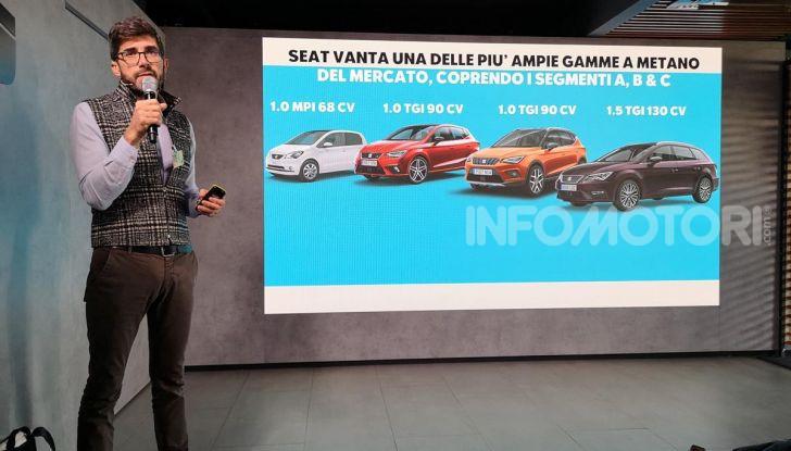 Prova nuova Gamma Seat Metano: info, costi, e benefici dei motori TGI - Foto 12 di 24