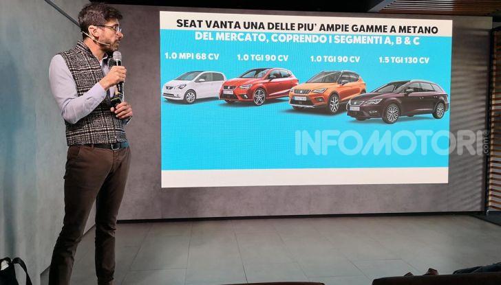 Prova nuova Gamma Seat Metano: info, costi, e benefici dei motori TGI - Foto 13 di 24