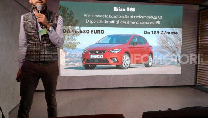 Prova nuova Gamma Seat Metano: info, costi, e benefici dei motori TGI - Foto 20 di 24