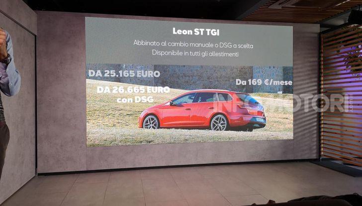 Prova nuova Gamma Seat Metano: info, costi, e benefici dei motori TGI - Foto 23 di 24