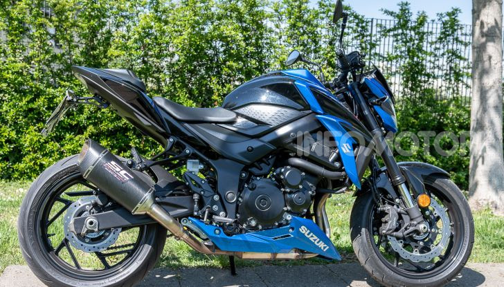 """Prova Suzuki GSX-S750 Yugen Carbon: la Naked """"italiana"""" che arriva dal Giappone - Foto 1 di 42"""