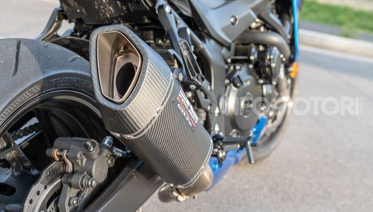 """Prova Suzuki GSX-S750 Yugen Carbon: la Naked """"italiana"""" che arriva dal Giappone - Foto 17 di 42"""