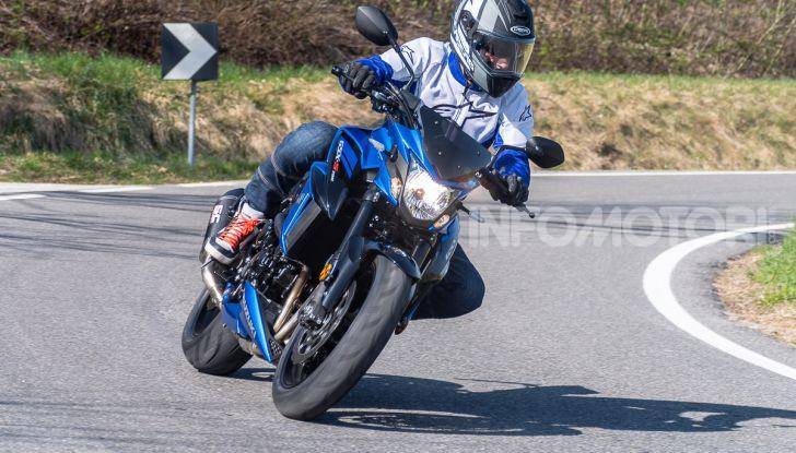 Suzuki GSX-S 750: la naked in versione replica MotoGP - Foto 27 di 42