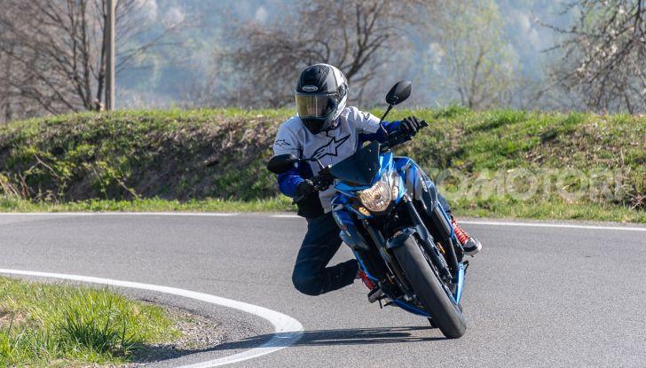"""Prova Suzuki GSX-S750 Yugen Carbon: la Naked """"italiana"""" che arriva dal Giappone - Foto 28 di 42"""
