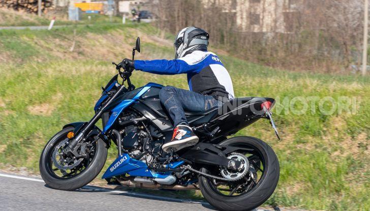 """Prova Suzuki GSX-S750 Yugen Carbon: la Naked """"italiana"""" che arriva dal Giappone - Foto 31 di 42"""