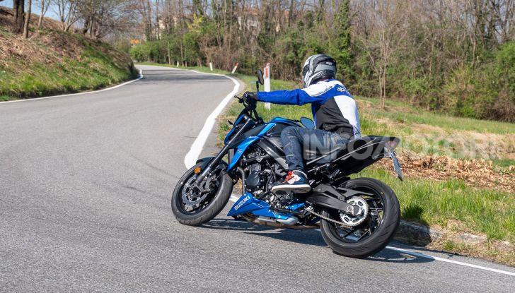 """Prova Suzuki GSX-S750 Yugen Carbon: la Naked """"italiana"""" che arriva dal Giappone - Foto 37 di 42"""