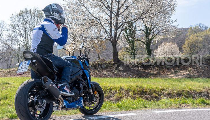 """Prova Suzuki GSX-S750 Yugen Carbon: la Naked """"italiana"""" che arriva dal Giappone - Foto 41 di 42"""