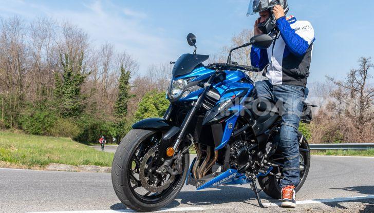 """Prova Suzuki GSX-S750 Yugen Carbon: la Naked """"italiana"""" che arriva dal Giappone - Foto 42 di 42"""