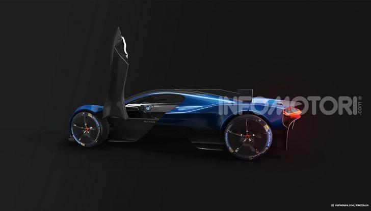 Tesla Olympus Max, il render si ispira alla Valkyrie - Foto 12 di 12