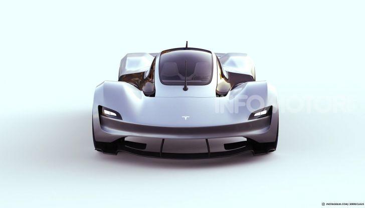 Tesla Olympus Max, il render si ispira alla Valkyrie - Foto 5 di 12