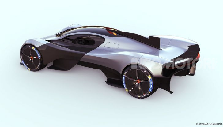 Tesla Olympus Max, il render si ispira alla Valkyrie - Foto 6 di 12
