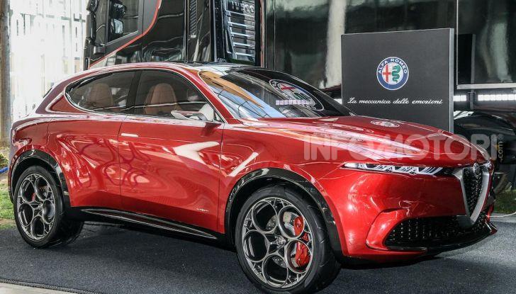Alfa Romeo Tonale al Salone del Mobile 2019: un'auto come oggetto di design - Foto 6 di 6
