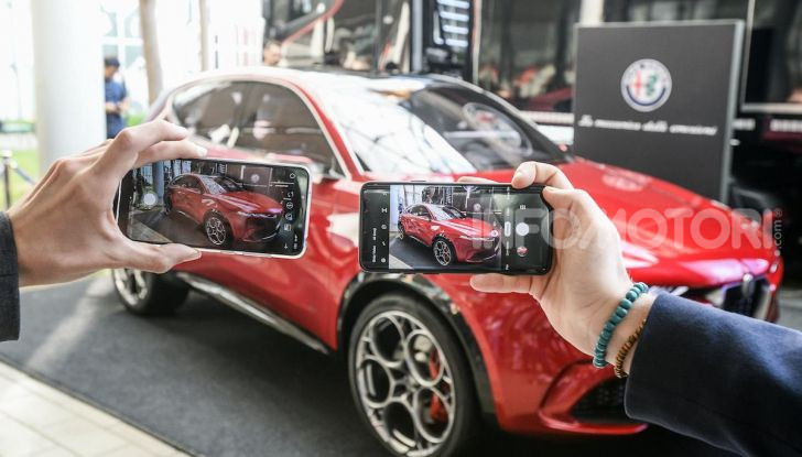 Alfa Romeo Tonale al Salone del Mobile 2019: un'auto come oggetto di design - Foto 5 di 6