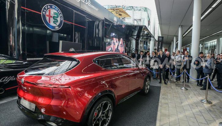 Alfa Romeo Tonale al Salone del Mobile 2019: un'auto come oggetto di design - Foto 4 di 6