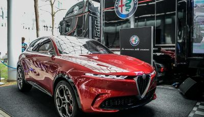Alfa Romeo Tonale al Salone del Mobile 2019: un'auto come oggetto di design