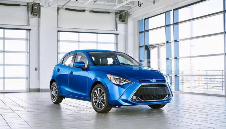 Nuova Toyota Yaris 2020, la versione Hatchback deriva da Mazda2 - Foto 1 di 10