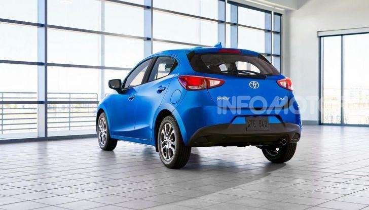 Nuova Toyota Yaris 2020, la versione Hatchback deriva da Mazda2 - Foto 3 di 10
