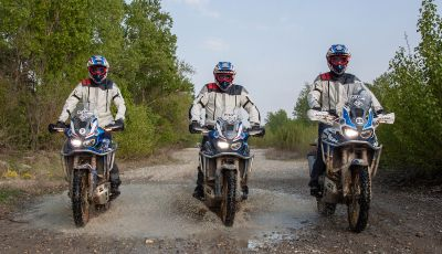 True Adventure Offroad Academy 2019 Honda pronta al via