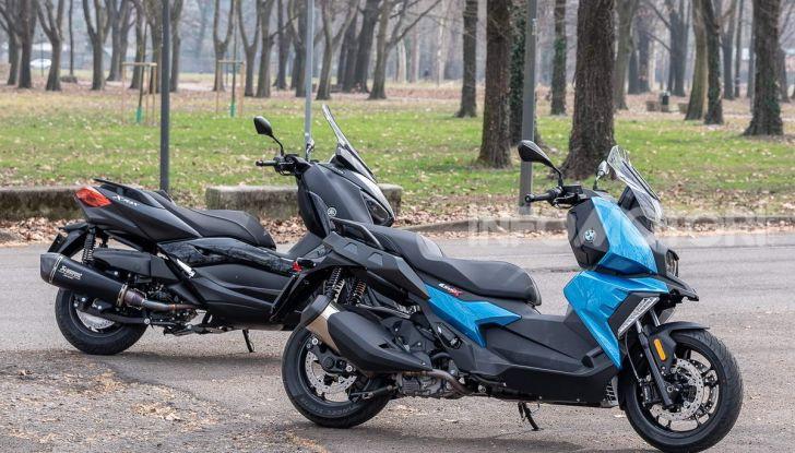 Confronto scooter 400: Bmw C400X e Yamaha XMAX 400 Iron Max - Foto 48 di 48