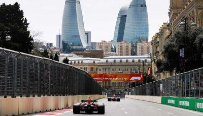 Formula1 orari TV GP Baku Sky Sport F1 e TV8