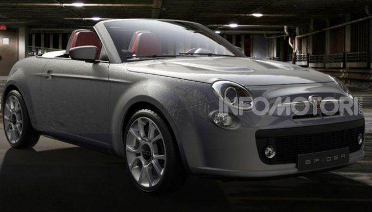 Fiat 500: arriva la versione Spider e Coupé? - Foto 1 di 4