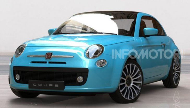 Fiat 500: arriva la versione Spider e Coupé? - Foto 3 di 4