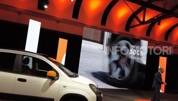 Fiat Panda Connected by Wind, la nuova serie speciale - Foto 17 di 21