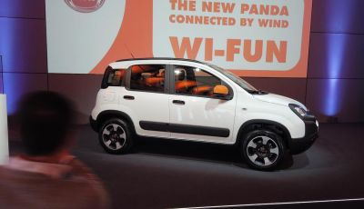 Fiat Panda Connected by Wind, la nuova serie speciale