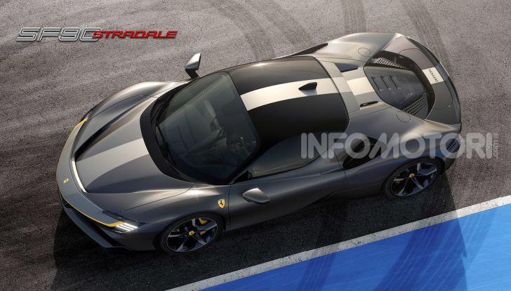 Ferrari SF90 Stradale: la prima ibrida di serie di Maranello - Foto 6 di 8