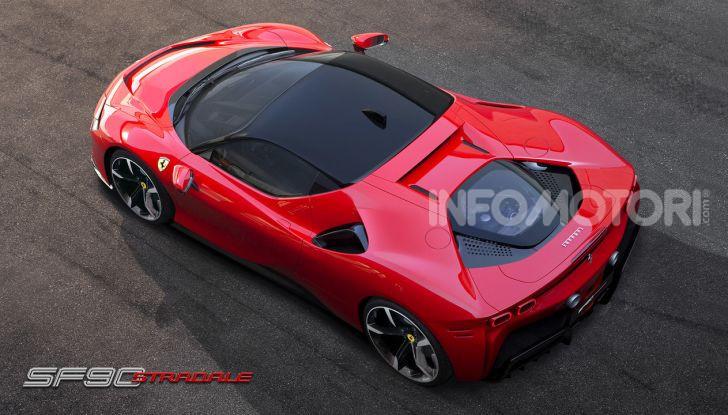 Ferrari SF90 Stradale: la prima ibrida di serie di Maranello - Foto 4 di 8