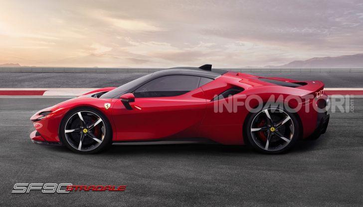 Ferrari SF90 Stradale: la prima ibrida di serie di Maranello - Foto 2 di 8