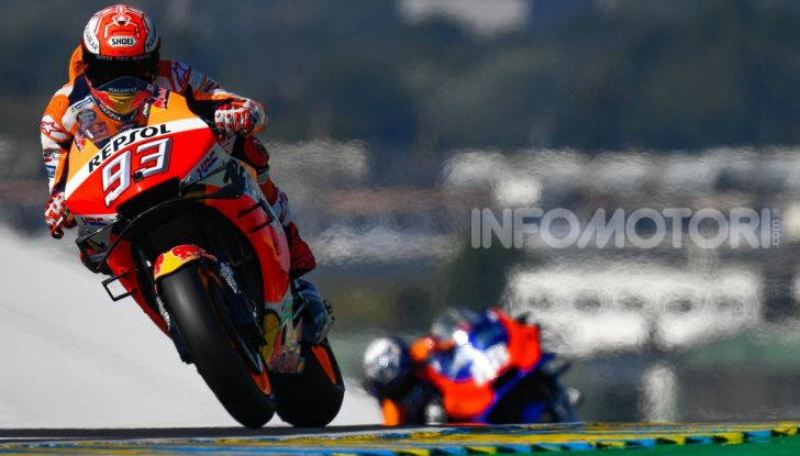 MotoGP 2019 GP di Francia, Le Mans: Marc Marquez trionfa davanti alle Ducati di Dovizioso e Petrucci, Rossi quinto - Foto 13 di 19