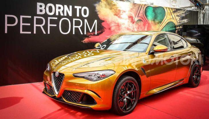 Un'Alfa Romeo Giulia Quadrifoglio d'oro per celebrare la Mille Miglia 2019 - Foto 1 di 8