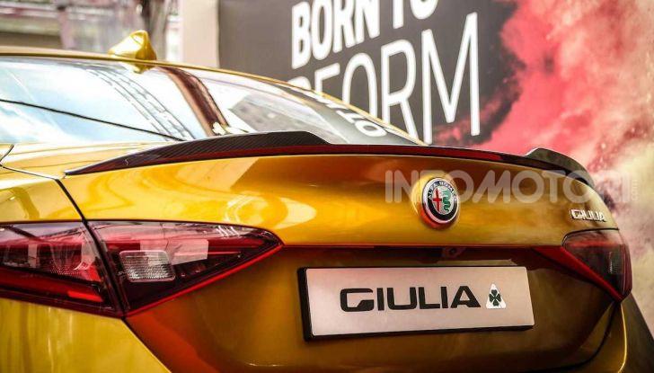 Un'Alfa Romeo Giulia Quadrifoglio d'oro per celebrare la Mille Miglia 2019 - Foto 2 di 8
