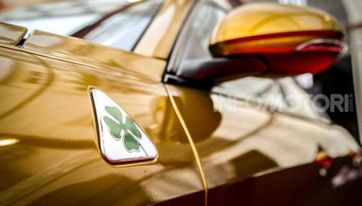 Un'Alfa Romeo Giulia Quadrifoglio d'oro per celebrare la Mille Miglia 2019 - Foto 4 di 8