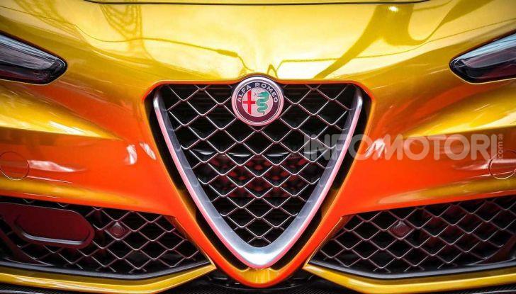 Un'Alfa Romeo Giulia Quadrifoglio d'oro per celebrare la Mille Miglia 2019 - Foto 5 di 8