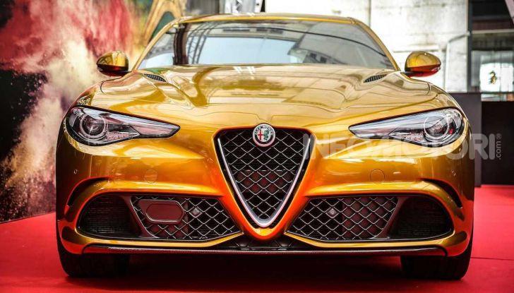 Un'Alfa Romeo Giulia Quadrifoglio d'oro per celebrare la Mille Miglia 2019 - Foto 6 di 8